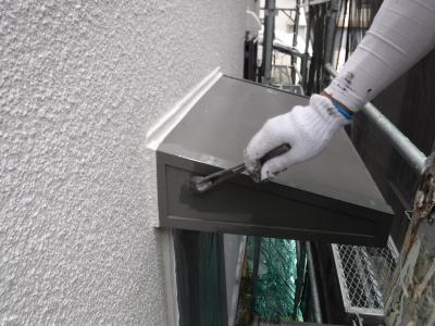 稲城市T様邸外壁・屋根塗装工事/付帯部塗装