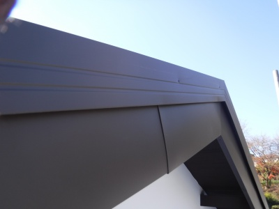稲城市I様邸外壁塗装・屋根工事/破風板板金巻き工事