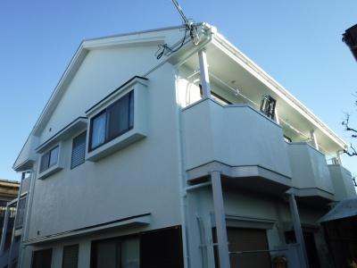 【外壁・屋根塗装工事】府中市Nアパート