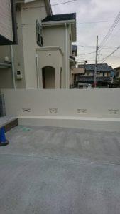 【塀塗装工事】調布市N様邸