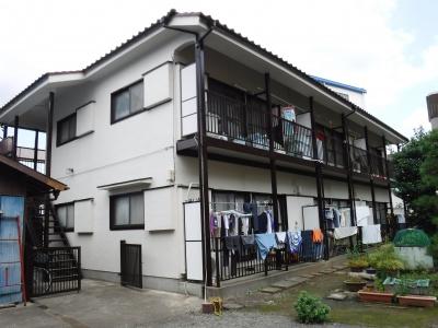 【外壁塗装工事】調布市Rアパート
