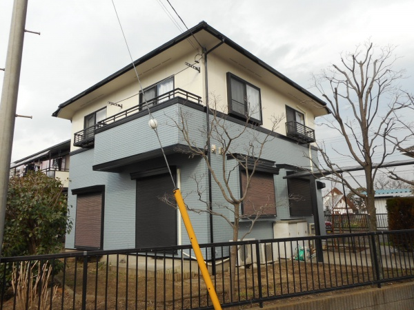 八王子市T様邸 外壁・屋根塗装工事・シーリング工事