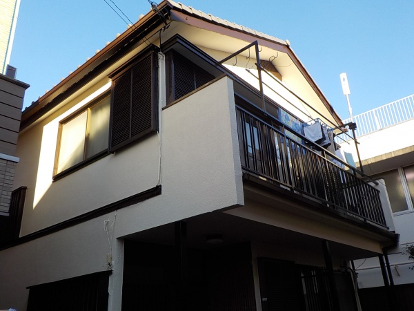 武蔵野市M様邸 外壁塗装工事