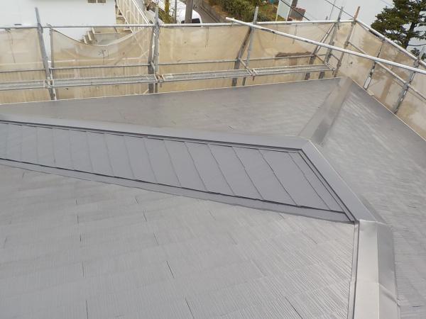府中市K様邸 屋根塗装・シーリング工事