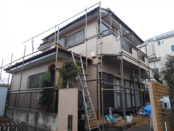 清瀬市O様邸 外壁塗装工事