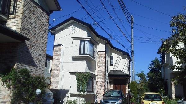 調布市W様邸 外壁・屋根塗装工事