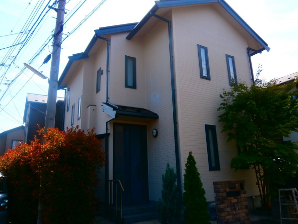 西東京市K様邸 外壁・屋根塗装・シーリング工事
