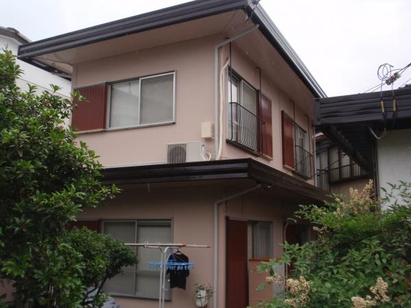 調布市A様邸 外壁・折半屋根塗装工事