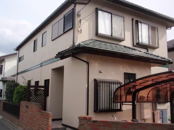 府中市Y様邸 外壁・屋根塗装工事