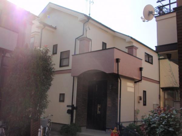 西東京市T様邸 外壁・屋根塗装工事