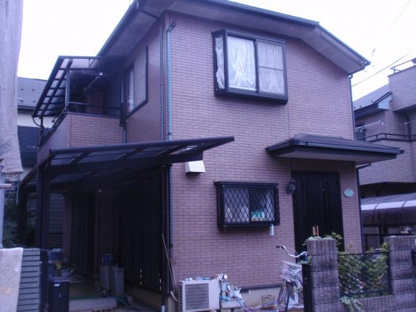 小金井市K様邸 外壁・屋根塗装工事