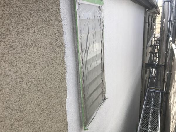 小金井市S様邸/外壁下塗り