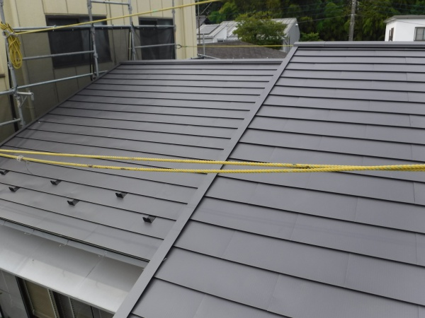 稲城市Y様邸 屋根のカバー工法