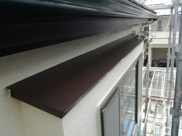 小金井市K様邸/付帯部塗装作業