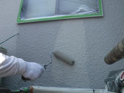 武蔵野市S様邸/外壁上塗り