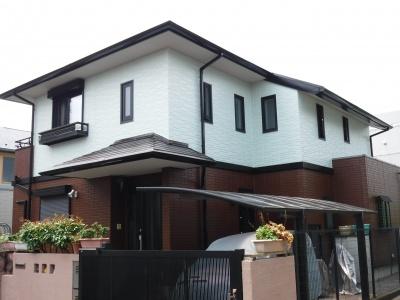 稲城市M様邸 屋根・外壁塗装、シーリング工事
