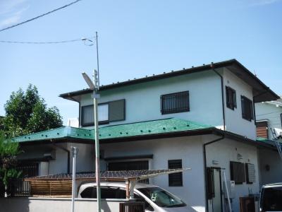 調布市S様邸 屋根塗装工事