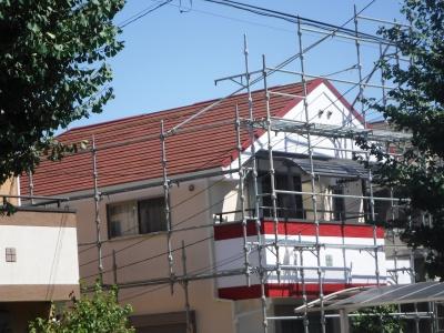 稲城市M様邸 外壁塗装・屋根工事