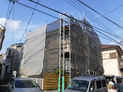 弊社最近のイチ押し施工現場です。<稲城市Y様邸・外壁クリヤー塗装>