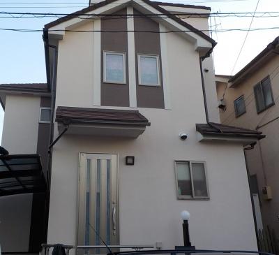 清瀬市K様邸外壁塗装・屋根葺き工事