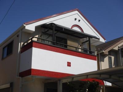【外壁塗装・屋根工事(カバー工法)】稲城市M様邸