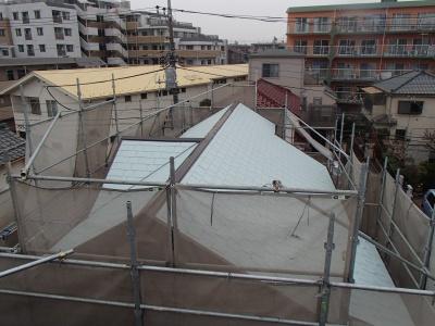【外壁・屋根塗装・シーリング工事】府中市Y様邸
