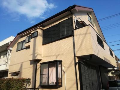 【外壁・屋根塗装工事】調布市S様邸