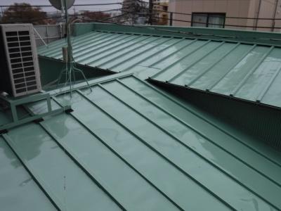 【トタン屋根塗装工事】国立市A様邸