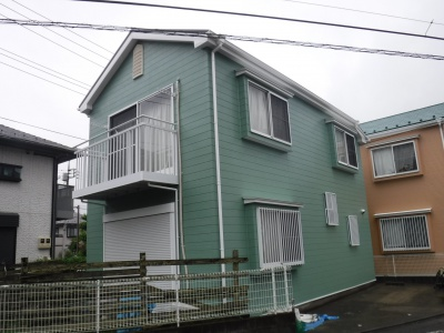 【外壁・屋根塗装】稲城市テラスハウスB