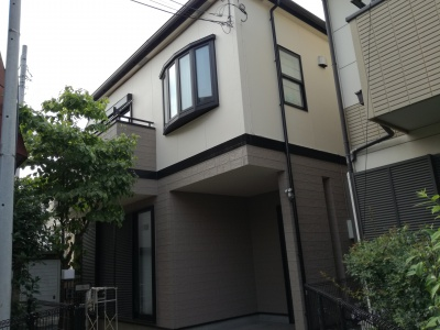 【外壁・屋根塗装工事】府中市T様邸