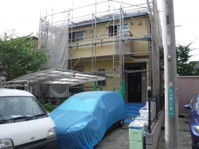 【外壁塗装工事】稲城市S様邸