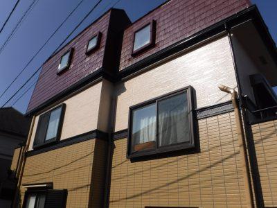 【屋根・外壁塗装工事】稲城市M様邸