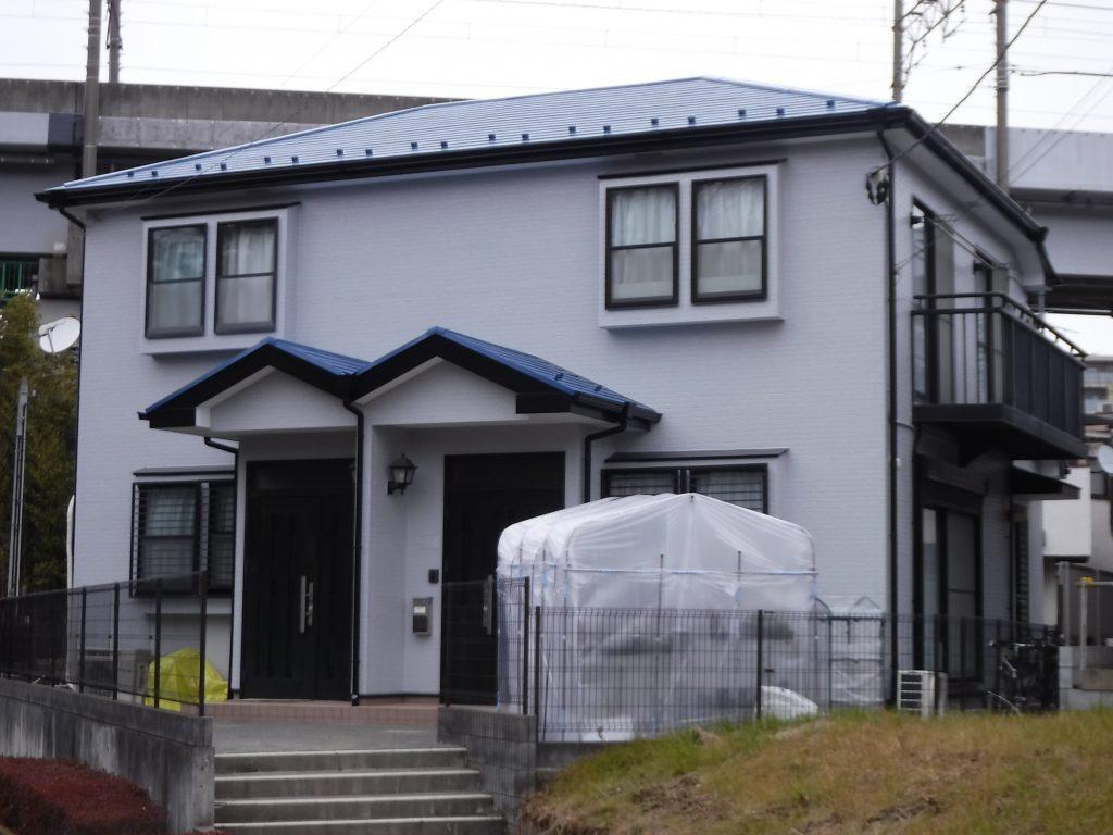 【屋根・外壁塗装工事】稲城市Rアパート