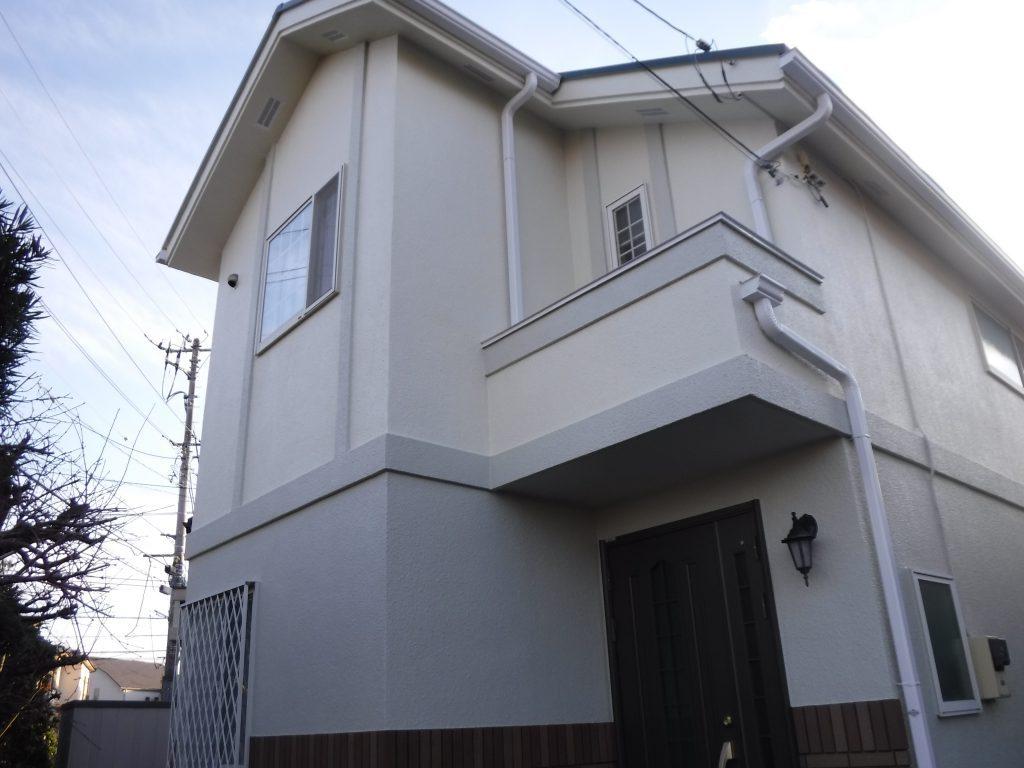 【屋根・外壁塗装工事】稲城市I様邸