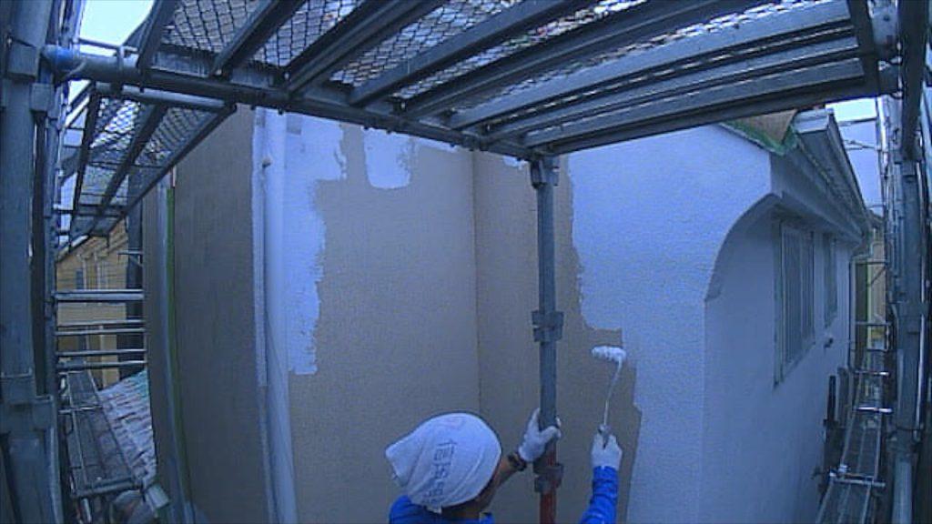 【施工例タイムラプス】外壁塗装工事練馬区M様邸