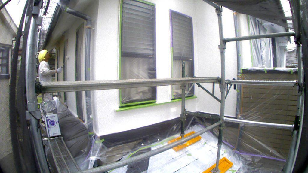 【施工例タイムラプス】外壁塗装工事川崎市Y様邸