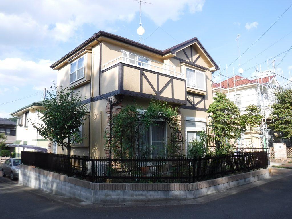 【外壁塗装・屋根葺き替え工事】川崎市O様邸